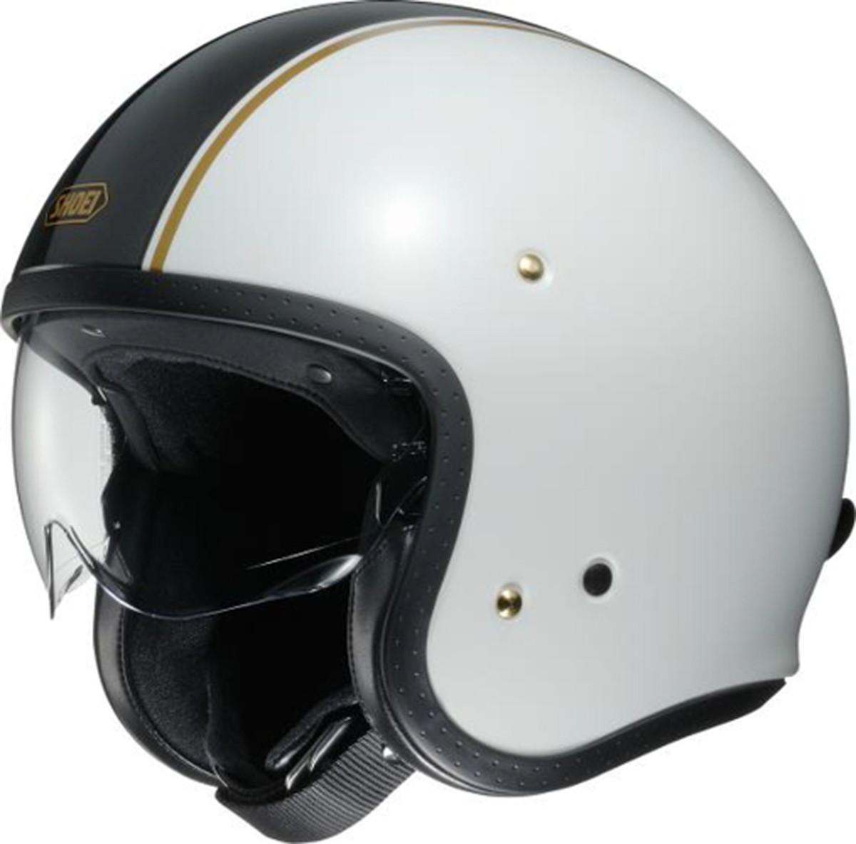 【動画あり】 SHOEI ジェットヘルメット J・O CARBURETTOR (キャブレター) TC-6 Lサイズ