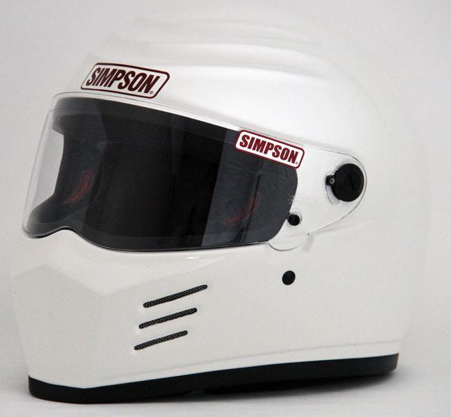 SIMPSON フルフェイスヘルメット OUTLAW ホワイト 58cm