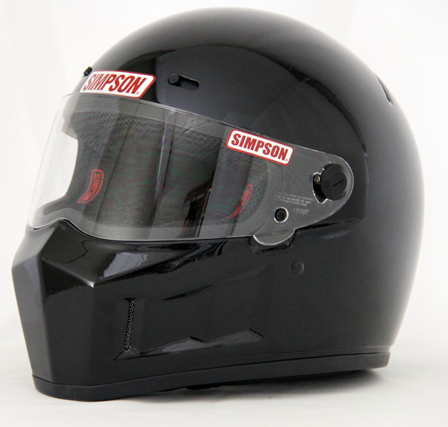 SIMPSON フルフェイスヘルメット SUPER BANDIT 13 ブラック 59cm