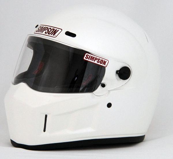 ホワイト 13 フルフェイスヘルメット BANDIT 60cm SUPER SIMPSON
