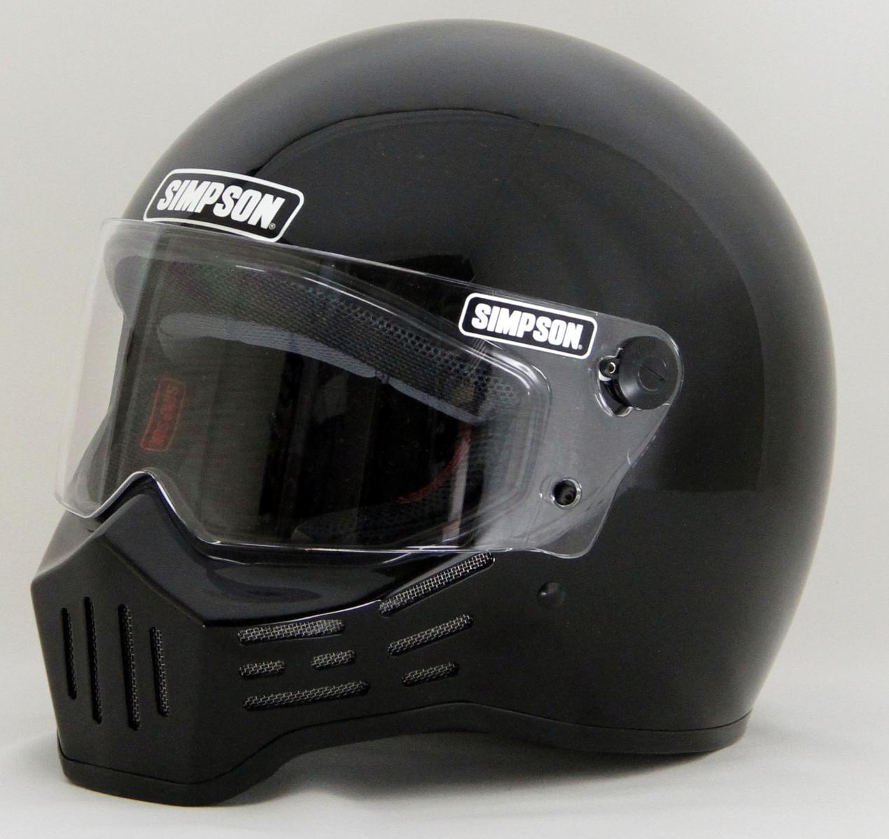 SIMPSON フルフェイスヘルメット M30 ブラック 59cm