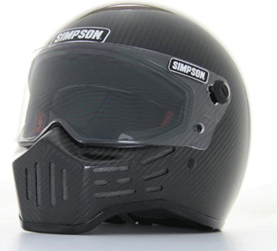 SIMPSON フルフェイスヘルメット M30 カーボン 61cm