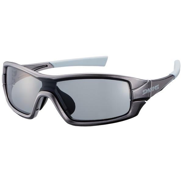 SWANS (スワンズ) サングラス STRIX I-0001 GMR (ガンメタリック×ガンメタリック×ライトグレー) ストリックス・アイ カラーレンズモデル 3144004801060