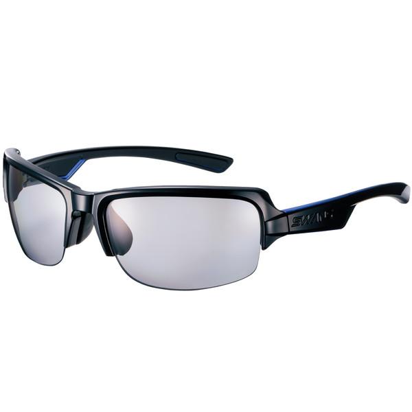 SWANS スワンズ ●日本正規品● サングラス DF-0053 BK ブラック×ブラック×クリアブルー 期間限定 DAY OFF 偏光レンズモデル 3137010206041