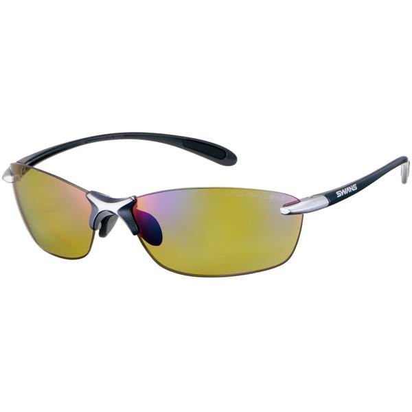 SWANS (スワンズ) サングラス SALF-0168 GMR (ダークガンメタリック×ライトシルバー) Airless-Leaf fit エアレス・リーフフィット ULTRA for FISHINGモデル 3136013701060