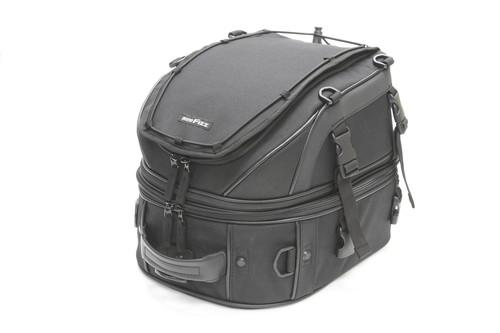バイク スクーター ツーリング 積載 数量限定アウトレット最安価格 バッグ タナックス モトフィズ ブラック MFK-139 TANAX 低価格化 Wデッキシートバッグ 可変容量18-28L MOTOFIZZ