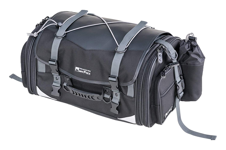タナックス (TANAX) MOTOFIZZ ミドルフィールド シートバッグ (可変容量29-40?) ブラック MFK-233