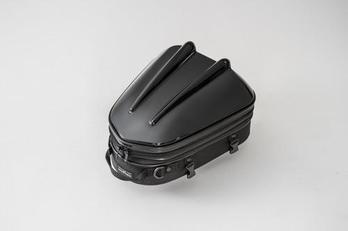 タナックス (TANAX) MOTOFIZZ バイクシートバック シェルシートバックMT/ブラック [容量10-14L] MFK-238