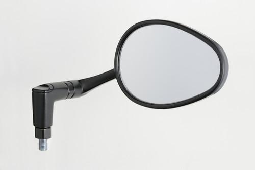 バイク スクーター カスタム ミラー ナポレオン タナックス TANAX NAPOLEON 10mm ブラック 1本入り リュートミラー APE-104-10 豪華な 左右共通 流行 バイクミラー 正ネジ