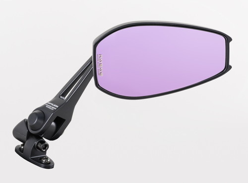 タナックス (TANAX) バイクミラー ナポレオン カウリングミラー9 ブラック 防眩鏡【RAYSAVE】 左右共通(ショートステータイプ) AEX9 (1本入り)