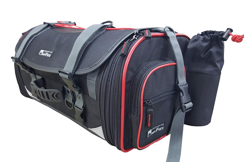 TANAX タナックス ミドルフィールドシートバッグ 赤 パイピング MFK-233R3
