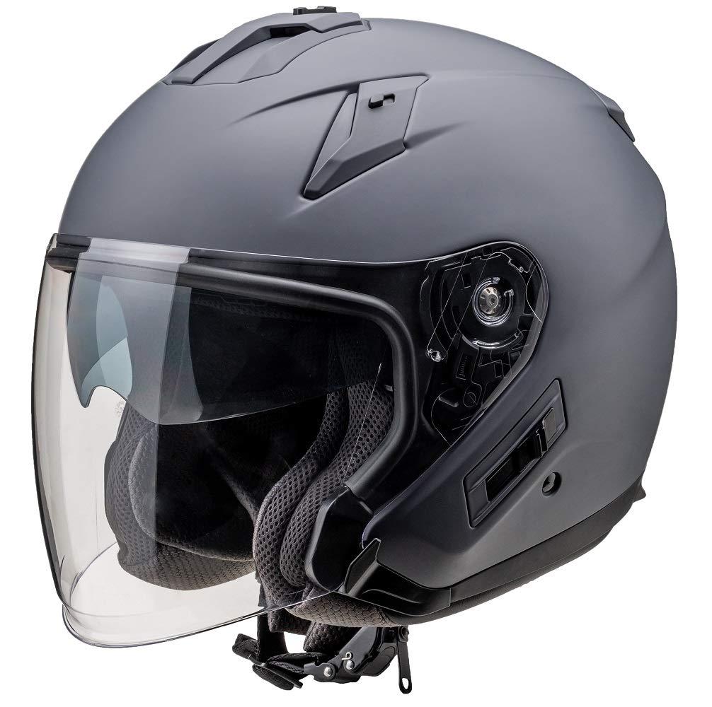 バイク ヘルメット FIORE FH-003A TURISMO M.GRY M