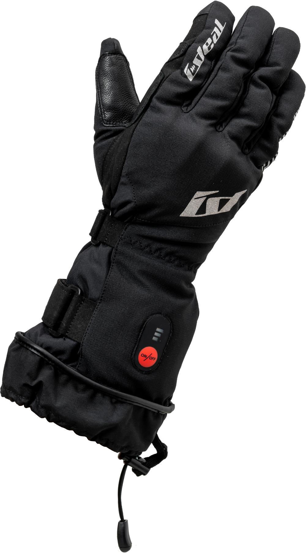 山城 yamashiro IDEAL アイディール 爆安 バイク用 グローブ 秋冬モデル ID-201 公式ストア ブラック HEAT ID201BK ヒート 1 L Lサイズ