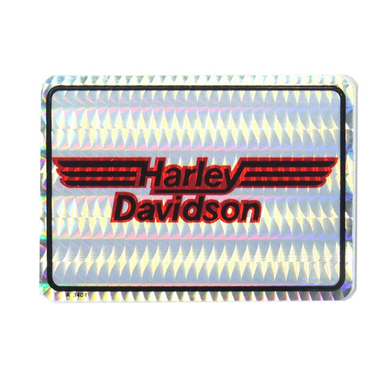 HARLEY-DAVIDSON ハーレーダビッドソン 1980-90年代 ビンテージ デッドストック ギフト H-Dロゴ デカール ホログラムステッカー 配送員設置送料無料 A3401