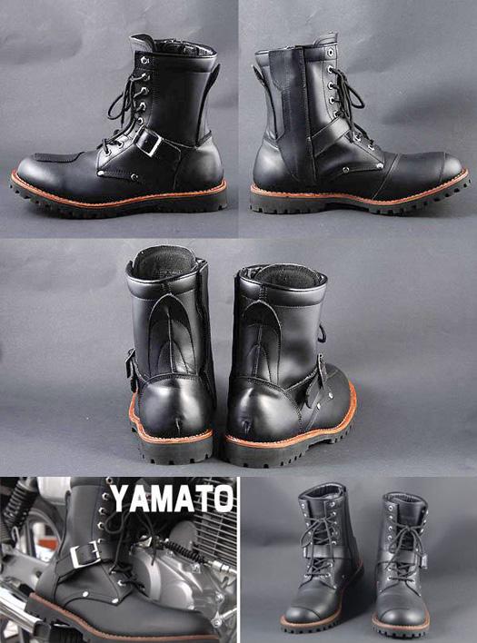 人気商品!!【AVIREX】 ライダースブーツ YAMATO
