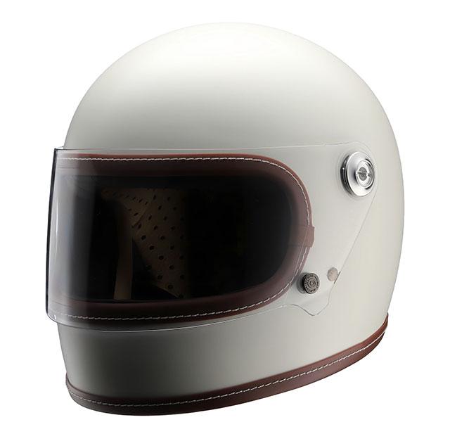 【送料無料】ニキトー NIKITOR Retro-One レトロワン オフホワイトネオクラシックフルフェイスヘルメット PSC規格  M・L(2サイズ)