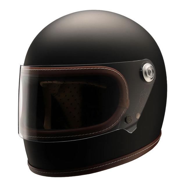 【送料無料】ニキトー NIKITOR Retro-One レトロワン フラットブラックネオクラシックフルフェイスヘルメット PSC規格  M・L(2サイズ)