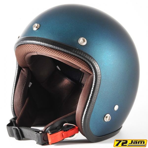 【72JAM HELMET】ジャムテックジャパン 72JAM ジェット ヘルメットTWILIGHT(トワイライト)(キャンディーブルー) FREEサイズ(57cm~60cm未満) <JP-08>SG/PSC規格適合