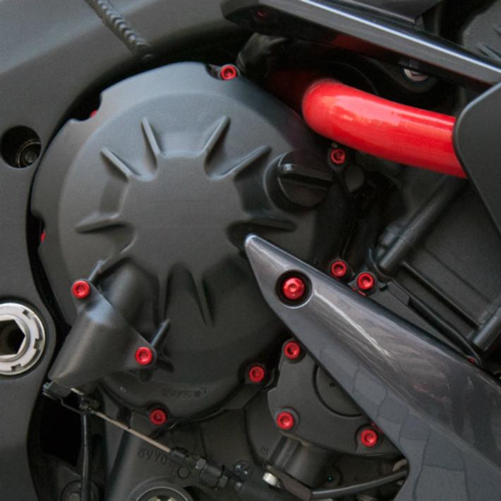 YAMAHA エンジンカバーボルト SRX-4/6(セル付き) '90 ~/35本セット