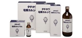 【第3類医薬品】タチカワ電解カルシウム600ml ×3本[使用期限2021/01]
