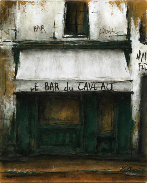 【作家名】中野克彦 【作品名】LE BAR du CAVEAU