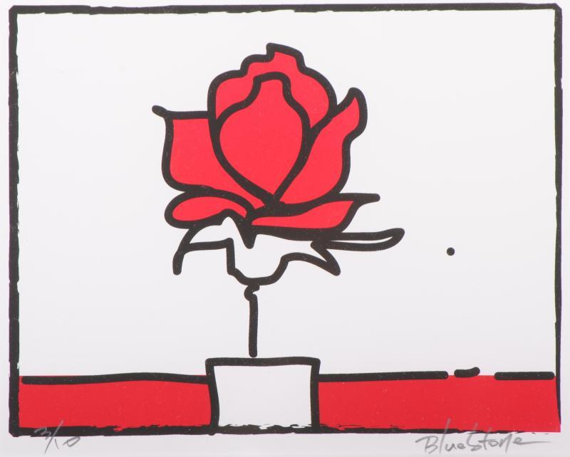 【作家名】ブルー・ストーン【作品名】POP薔薇・RED-2