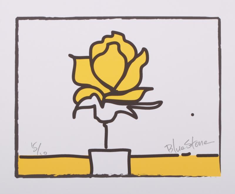 【作家名】ブルー・ストーン【作品名】POP薔薇2・イエロー