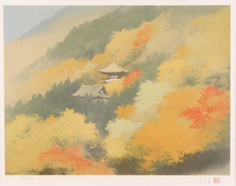 【作家名】岡信孝 【作品名】秋の神護寺