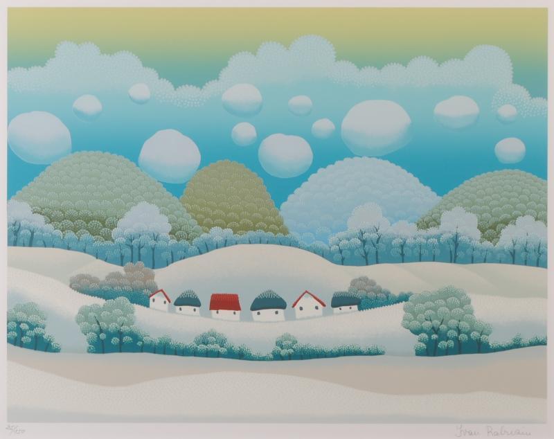【作家名】イワン・ラブジン 【作品名】青い冬 WINTER 2