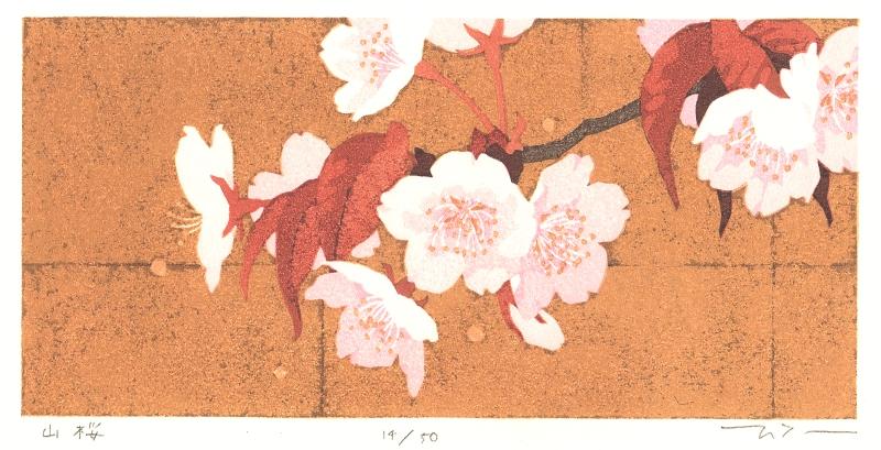 【作家名】本荘正彦 【作品名】山桜