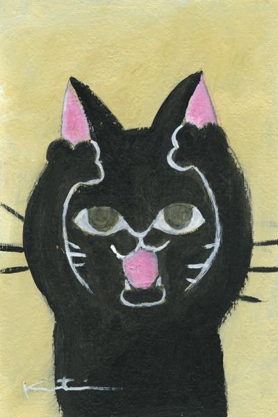 【作家名】香月和夫 【作品名】あー黒猫