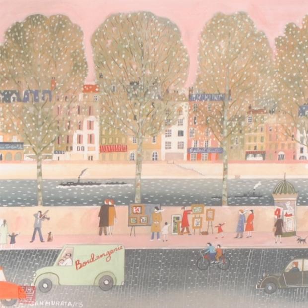 【作家名】サン村田【作品名】パリの芸術家・3・G