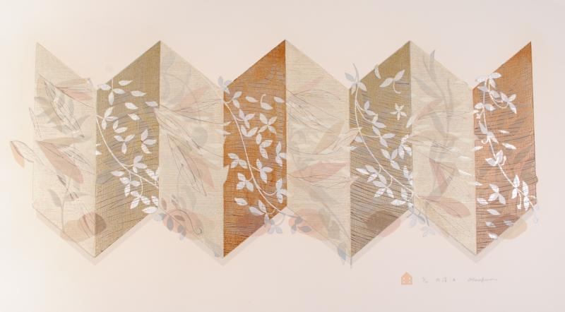 【作家名】白駒一樹【作品名】折譜-3
