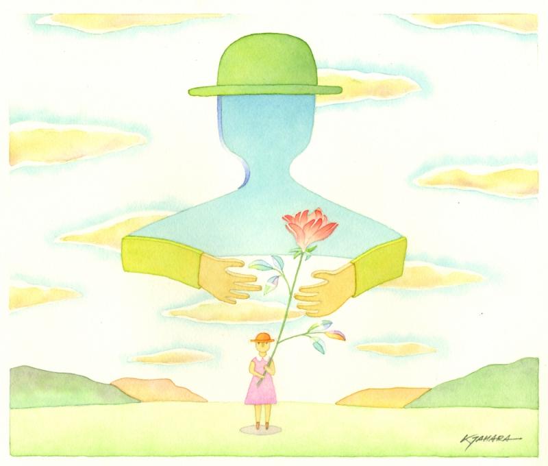 【作家名】田原健二 【作品名】あなたに花を