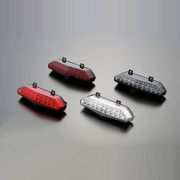 ポッシュ 072090-96 LEDテールランプユニット ダークレッド カワサキ ZRX1200 DAEG