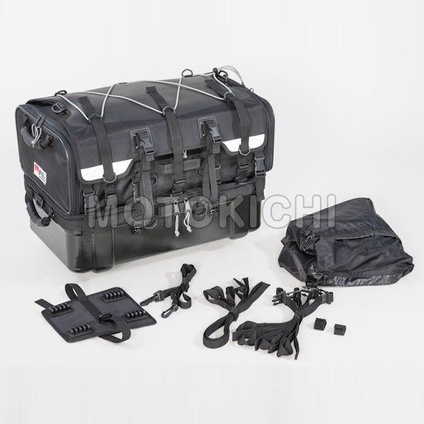 TANAX タナックス MFK-222 グランドシートバッグ 70L (上部バッグ40L・下部バッグ30L) レインカバー付き