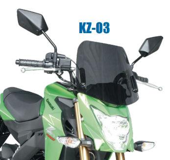 Z125 Z125 Pro KZ-03 ミドルスクリーン KZ-03 Pro 旭風防, トータルビル用品:1e5cfa72 --- jpworks.be