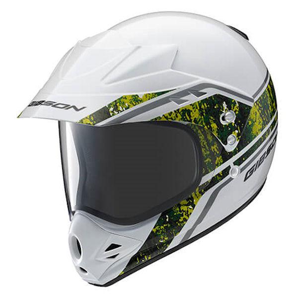 YAMAHA純正 ヤマハ (90791-1763) オフロードヘルメット YX-3 GIBSON Version-T2 グリーン