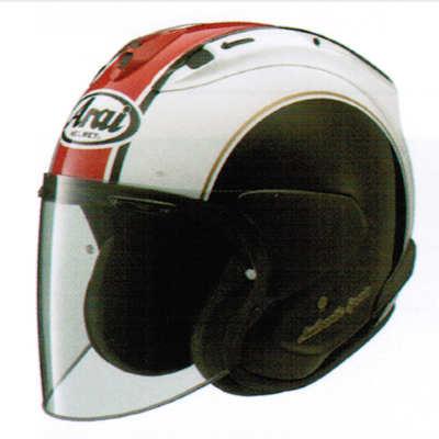 YAMAHA VZ-RAM ジェットヘルメット ヤマハカラー レッド ARAIコラボ商品
