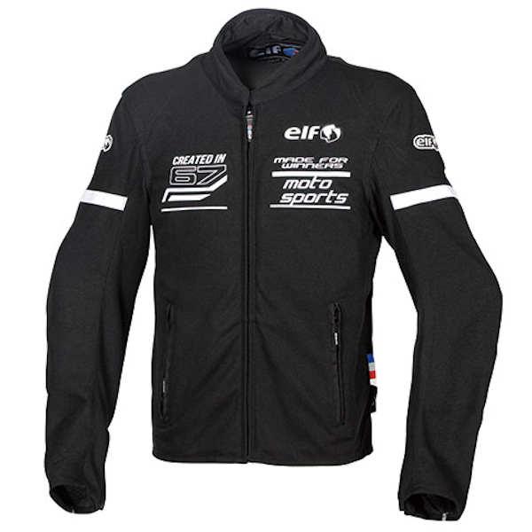 ELF エルフ EJ-S102 Freddo Mesh Jacket フレッドメッシュジャケット ホワイト S~4Lサイズ