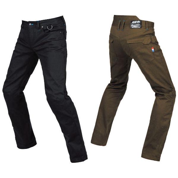 ELP-9221 ELF エルフ Comfort Stretch Pants コンフォートストレッチパンツ ブラック