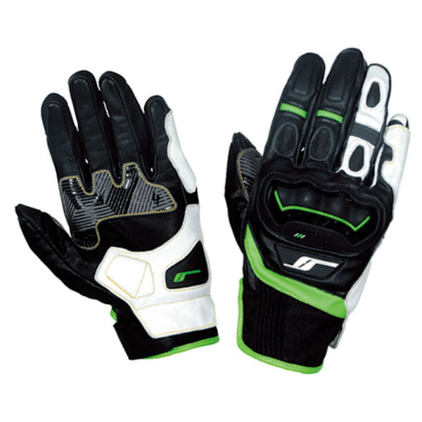 FG-A196 FLAG SHIP Hybrid Leather Glove ハイブリットレザーグローブ グリーン M~LLサイズ