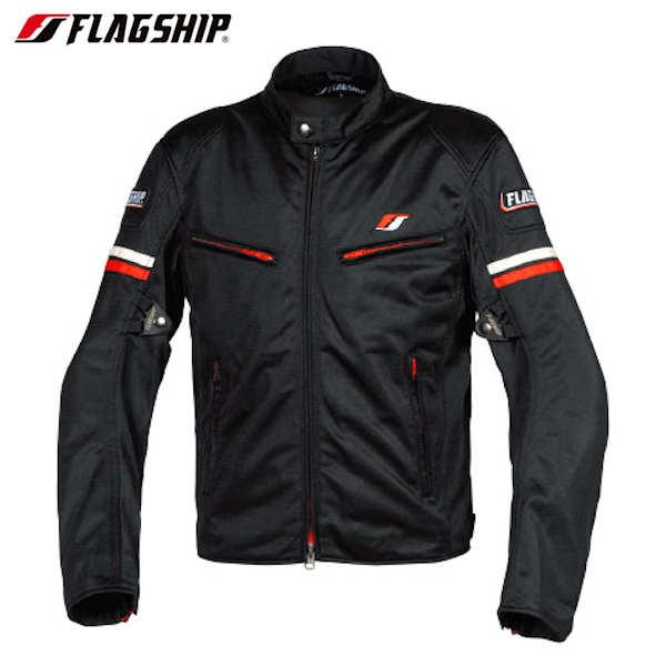 FJ-S195 FLAG SHIP Smart Ride Mesh Jacket スマートライドメッシュジャケット レッド M~4Lサイズ