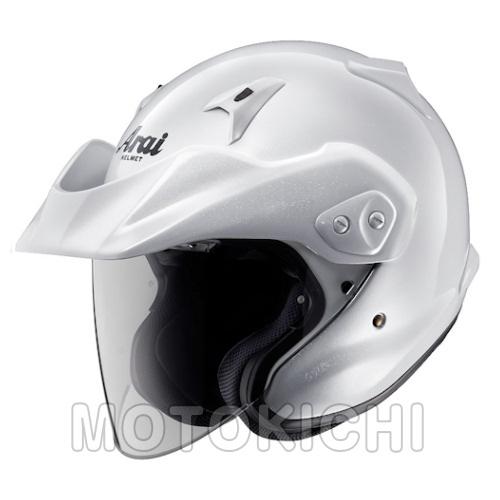 Arai CT-Z アライヘルメット グラスホワイト 'CT-Z'