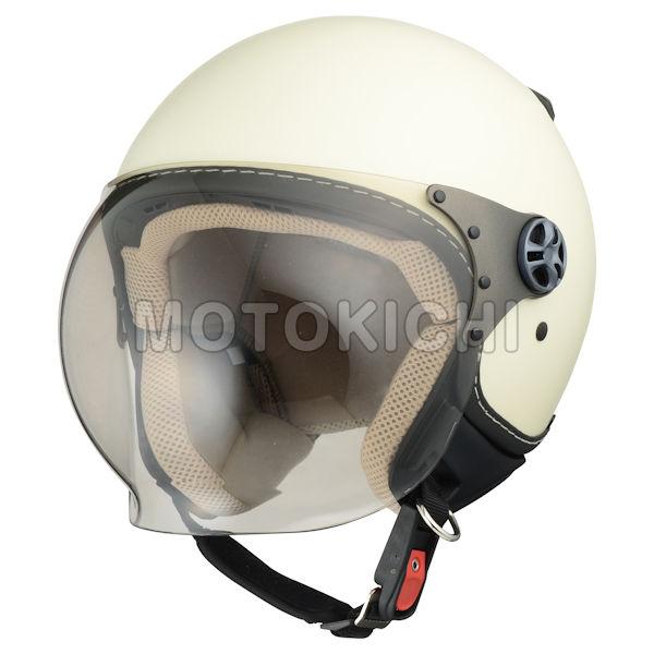 【あす楽対応】シレックス ソレル ジェットヘルメット ZS-211K-SMIV マッドシャインアイボリー フリーサイズ(57~58cm) レディース Silex 'SOREL'