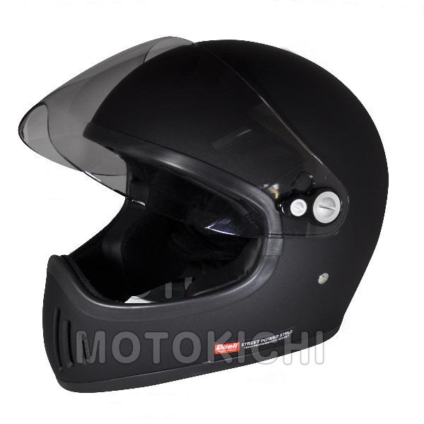 【あす楽対応】シレックス ZS-728-MBL 雷神 RAIJIN フルフェイスヘルメット マッドシャインブラック Lサイズ