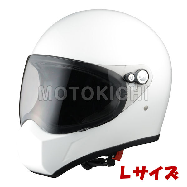 ZS730-PWL シレックス 風神 'FUJIN' フルフェイスヘルメット パールホワイト Lサイズ(59-60)