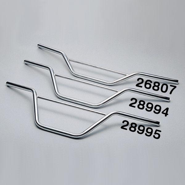 デイトナ DAYTONA 28994 スクランブラーハンドル 120mmアップ 全幅830×高さ122×奥行170mm φ22.2mm 汎用 FTR グラストラッカー ビッグボーイ