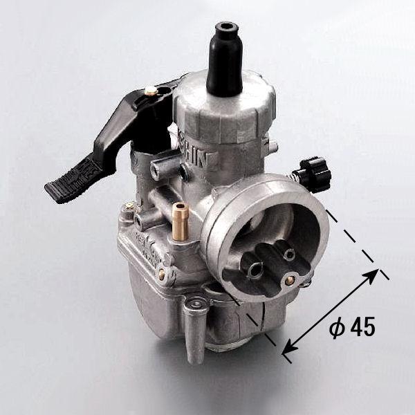 デイトナ DAYTONA 91843 PE20キャブレター タイプ1 (M/J#90 S/J#65 スロットルバルブ#3.0) 汎用