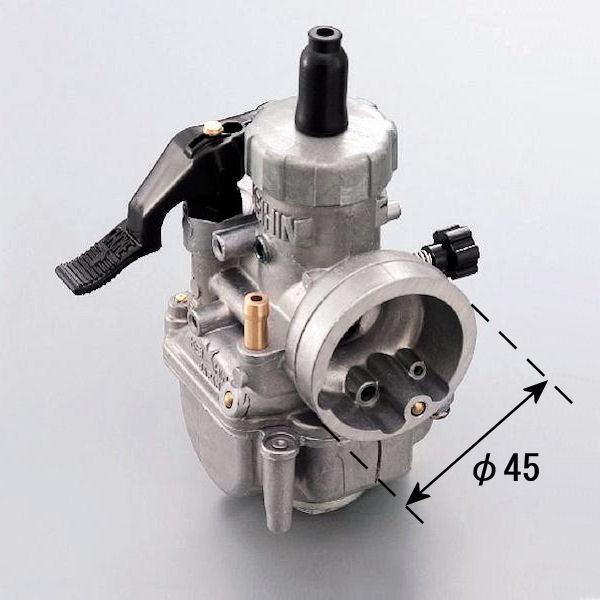 デイトナ DAYTONA 91844 PE20キャブレター タイプ2 (M/J#92 S/J#55 スロットルバルブ#4.0) 汎用